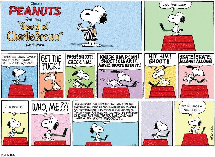Snoopy-Hockey